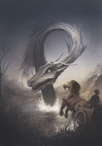 Knucker Hole Dragon
