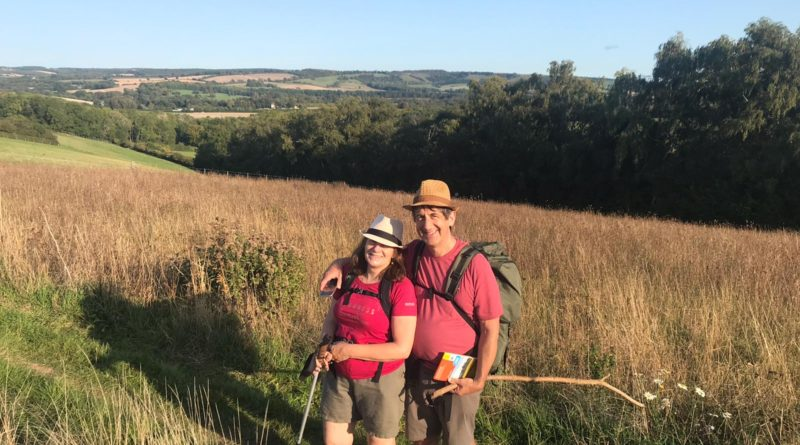 Chris and Ann Monarch's Way Sept 2020